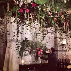 Putnam & Putnam event arrangements and decorations Flowers For You, Ceiling Decor, Screen Shot, Floral Arrangements, Wedding Ceremony, Wedding Flowers, Floral Design, Wedding Inspiration, Things To Come