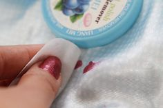 How to Get Nail Polish out of Fabric {good to know}
