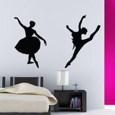 Ballerina Silhouette Decal