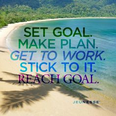 Make Plan. Get To Work. Stick To It. Make money. Enjoy work from the beach! Who wouldn't want to do work from the beach? This opportunity is freedom! Health Goals, Health Tips, Reaching Goals, Health Lessons, Health Logo, Morning Motivation, Lessons For Kids, Setting Goals, Positive Mindset