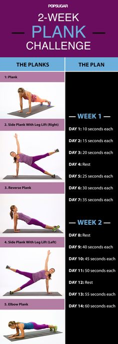 2-Week Plank Challenge: Build Up to a 5-Minute Plank www.yogatraveltree.com #findyouryoga #yoga #plank #abs #core #sequence #challenge