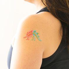Tattly dinosaur tattoo from the new science set