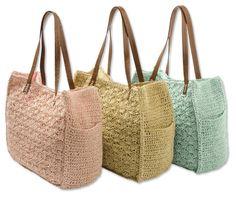 Just found this Crochet Handbag - Scalloped Pastel Crochet Bag -- Orvis on Orvis.com!