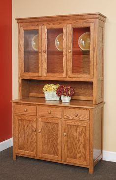 3 Door Hutch - kitchen cabinet hutch with optional silverware tray drawer insert standard with & 3 door kitchen cabinet hutch images | Mahogany 3 Door China Hutch ... Pezcame.Com