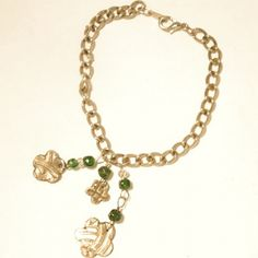 Silver With A Chance of Flowers Bracelet