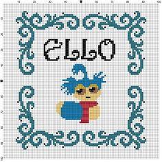Ello Labyrinth Cross Stitch Pattern Instant by SnarkyArtCompany
