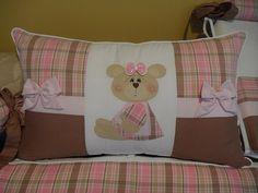 cabeçeira do protetor de berço ursinha com laços   Flickr - Photo Sharing!