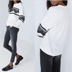 2015 New Autumn European Casual Print Soft Sweatshirt Women Sweatshirts Ethnic Pullover Tops Blouse Hoodie Sweatshirt. Click visit to buy