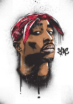 Art-Poster Rap and hip-hop - Tupac, by Bokkaboom Tupac Shakur, Hd Wallpaper Für Iphone, 2pac Wallpaper, Blood Wallpaper, Desktop Wallpapers, Arte Do Hip Hop, Hip Hop Art, Art Pop, Tupac Art