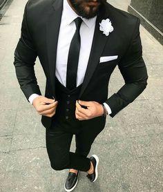 Drixcup Men's Suit Official Store Latest Designs Dark Men Classic Wedding Suits Man Blazer Slim Fit Terno Masculino Costume Homme Groom Tuxedos Prom Party Cool Tuxedos For Prom, Prom Suits For Men, Costume Slim, Bride Costume, Groom Tuxedo, Tuxedo For Men, Mens Fashion Suits, Mens Suits, Black Tuxedo Wedding