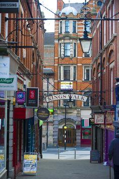King's Walk, Nottingham.