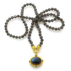 Elizabeth Locke Labradorite Pendant | Veranda Jewelry Vero Beach
