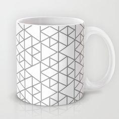 Karthuizer Grey & White Pattern Mug by Stoflab