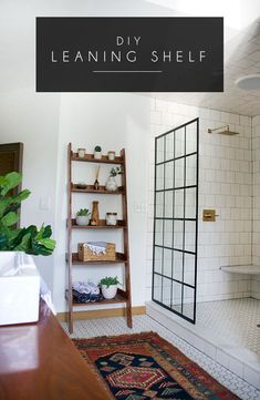 This gorgeous Modern Vintage Bathroom Reveal is finally here! It came a long way from the dated space that it once was! This gorgeous Modern Vintage Bathroom Reveal is finally here! It came a long way from the dated space that it once was! Modern Vintage Bathroom, Bohemian Bathroom, Vintage Kitchen, Earthy Bathroom, Neutral Bathroom, Style At Home, Ideas Hogar, Bathroom Inspiration, Bathroom Ideas