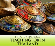 6 Tips for Finding a Teaching Job in Thailand