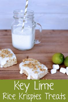 Key Lime Rice Krispi