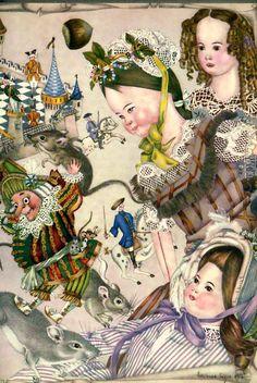 Battle Royal #2 (Illustrations to The Nutcracker) - Adrienne Segur