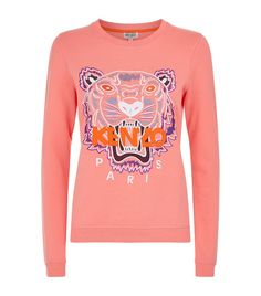 Women: Sweatshirts Kenzo Embroidered Icon Tiger Sweatshirt