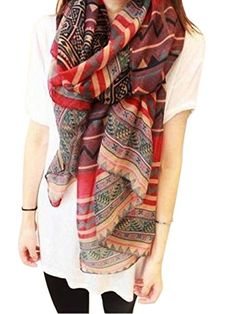 HnB New Retro Women Bohemian Soft Scarf Large Beach Shawl Scarf. Shopswell | Shopping smarter together.™