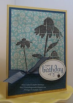 Trinity Designs: Spice Cake Faux Tile
