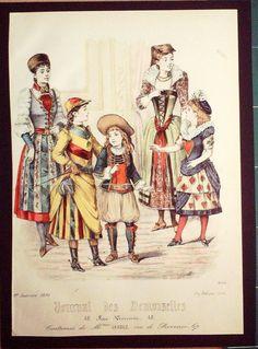 GRAVURE de MODE AUTHENTIQUE-J 70-JOURNAL DES DEMOISELLES-1891-N°4814