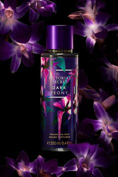 The best things happen after Dark Peony, a warm floral ripe with Purple Peony & Sheer Musk. Bath And Body Works Perfume, Perfume Body Spray, Victoria Secret Fragrances, Victoria Secret Perfume, Pink Perfume, Perfume Bottles, Victoria Secret Body Spray, Fragrance Mist, Fragrance Lotion