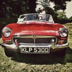 MG B my first car.....was older than me