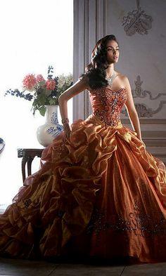 SALMON & ORANGE PRINTED DRESSES