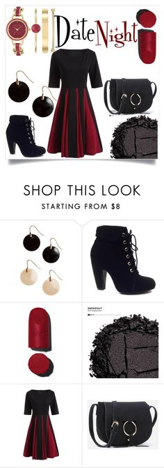 """Date Night"" by poly-flower on Polyvore featuring Bamboo, Urban Decay and Anne Klein"