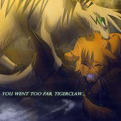 Too Far Longtail and Fireheart by RiverSpirit456 on deviantART omg Longtail showed his loyalties i love him so much....