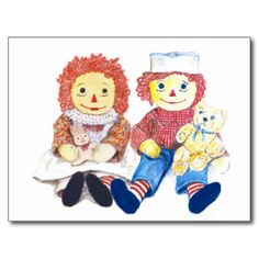 raggedy postcards - Google Search