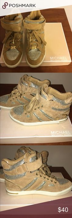 Michael Kors sneakers Great condition. Authentic. Make an offer! Michael Kors Shoes Sneakers