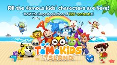 All the famous kids' characters are here!  Hold the largest selection of kids' contents in Korea!! Provide over 1500 kids' educational contents including videos, songs, fairy tales,  English, math, science, etc.  https://itunes.apple.com/app/tomokids-island-global/id869264745?mt=8