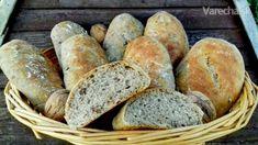 Kefírové kváskové dalamánky s orechmi (fotorecept) - Recept - My site Bread And Pastries, Kefir, Cooker, Gardening, Basket, Lawn And Garden, Horticulture