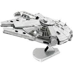 Fascinations Metal Earth Star Wars Millennium Falcon 3D Metal Model Kit