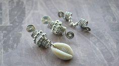 Silver Dreadlock Jewelry Set by MarcieRoxx on Etsy, $18.00