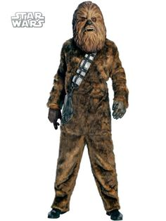 Men's Deluxe Chewbacca Costume | Wholesale TV and Movie Costumes for Men