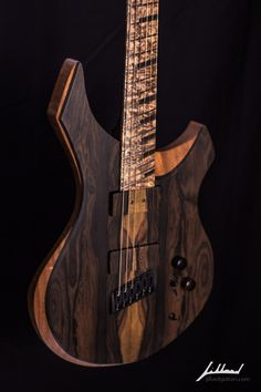 Jillard Guitars - Custom Zirocote Empress- Fan Fret Guitar