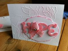 HOPE relay for life fundraiser card