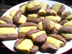 Galletitas de vainilla y chocolate