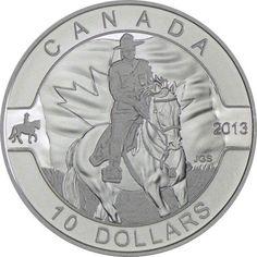 10 Dollar Silber O Canada - RCMP Mounted Police UN