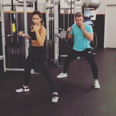 "Páči sa mi to: 39, komentáre: 5 – @fitnesstrainerinstitute na Instagrame: ""@Regrann from @bradleysimmonds - When two brains combine @alexia_clark  Who's your workout…"""