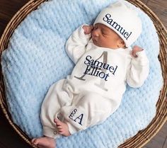 Personalized Baby Boy Coming Home Outfit Ideas ba boy coming home outfit newborn personalized sleeper Personalized Baby Boy Coming Home Outfit. Here is Personalized Baby Boy Coming Home Outfit Ideas for you. Personalized Baby Boy Coming Home Outfit per. Newborn Boy Clothes, Baby Boy Newborn, Babies Clothes, Babies Stuff, Carters Baby, Baby Gap, Newborn Hospital Outfits, Newborn Hats, Baby Boy Gifts