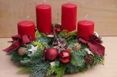 Adventskranz frisch gebunden - Adventskranz frisch gebunden Imágenes efectivas que le proporcionamos sobre healthy lunch ideas Una - Christmas Advent Wreath, Christmas Candles, Holiday Wreaths, Rustic Christmas, Handmade Christmas, Christmas Crafts, Holiday Decor, Wreaths Crafts, Advent Wreaths