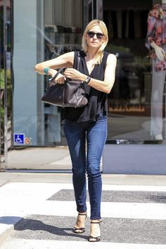 Kelly Rutherford was seen out and about in Beverly Hills.