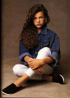 Young Milla Jovovich: