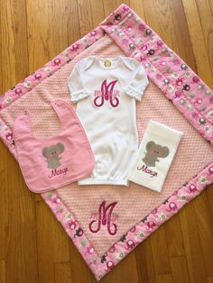 Baby Blanket/Personalized Baby Blanket for by CraftingByTheWayside