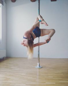 f e e l i n g t h e b l u e s . When you lack motivation but you just go to pole class and come out with a huge smile...