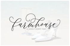 Farmhouse Script by