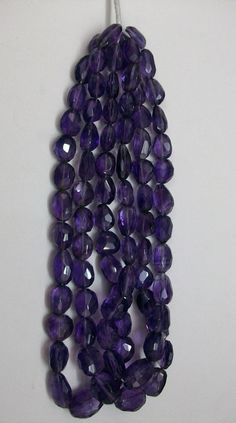 7x9 mm to 12x16 MM approx... NATURAL AMETHYST nugget by GEMSDEAL, $24.99